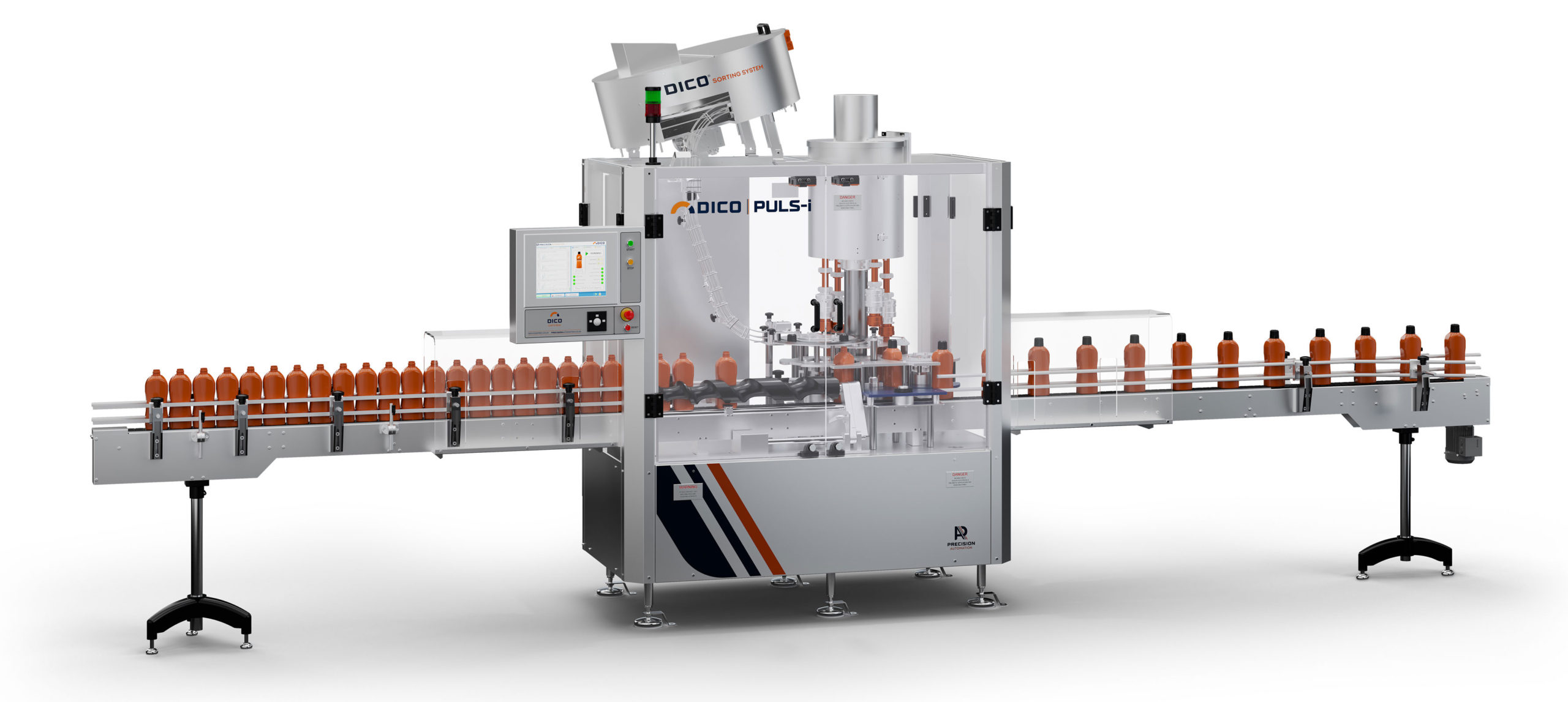 Dico Puls-i capping machine, designed and manufactured by Precision Automation