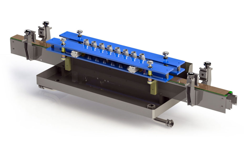 Precision Automation Gravfil quick change parts